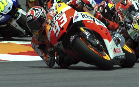 Moto GP's Marc Marquez at COTA
