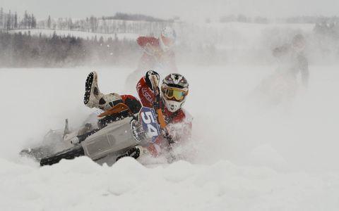 Ice Racing, Alberta, Canada