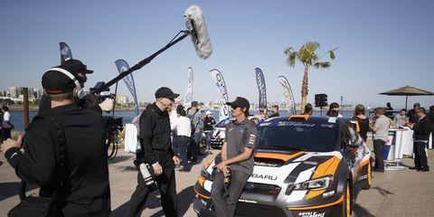 Subaru GRC driver Bucky Lasek said he's ready to take on Detroit.