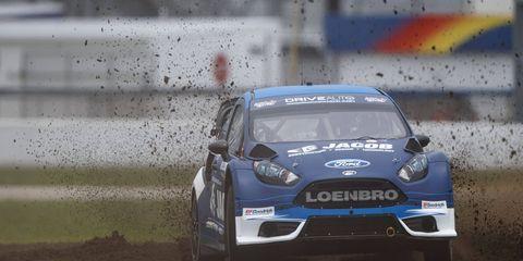 Steve Arpin won his first career GRC event at Daytona International Speedway on Saturday.