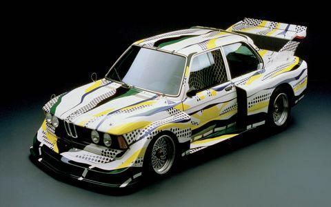 Roy Lichtenstein designed the third vehicle in the BMW Art Car Collection