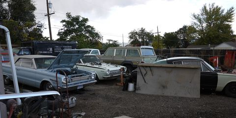 Jeep became part of Chrysler in 1987, so the Wagoneer belongs here.