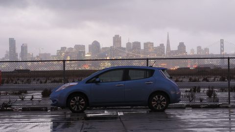 A very San Francisco sort of a car.