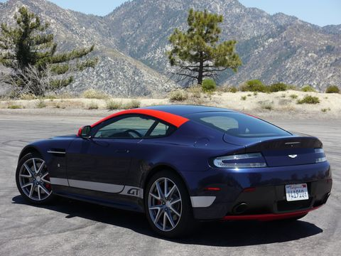 Powering the 2015 Aston Martin V8 Vantage GT is a 4.7-liter V8 pushing out an ample 430 hp with 361 lb-ft of torque to the rear wheels.
