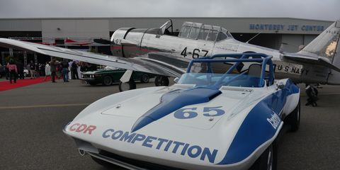 Corvette to fighter trainers at McCall's Motorworks