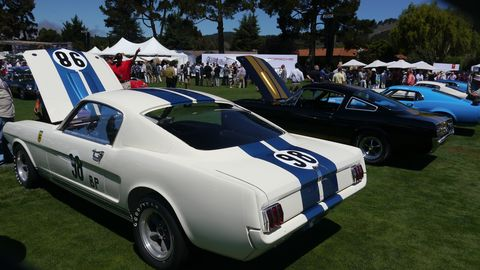 John Atzbach's Mustang R is the first one built. It's part of Competition Mustang class.