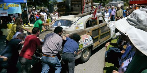Concours d'LeMons-winning woody. We all need a little help now and then.
