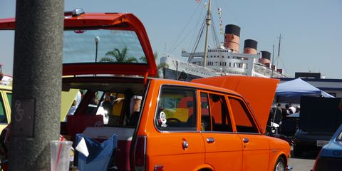 The Japanese Classic Car Show celebrated its tenth anniversary last weekend in the shadow of the Queen Mary in Long Beach, CA.