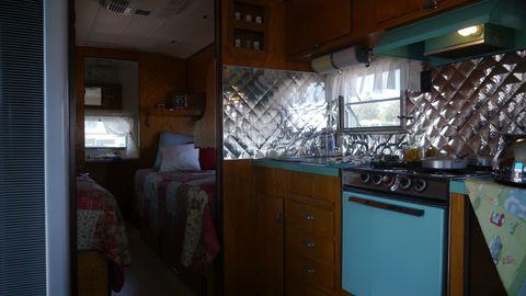 Silver Streak interior.