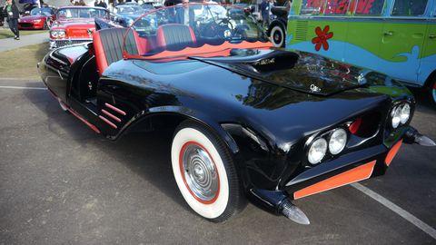 DC Comics 1963 Batmobile tour car