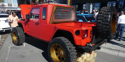 The SEMA Show in Las Vegas brought us loads of customized vehicles like this.