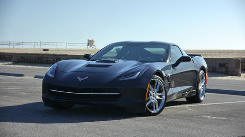 The Callaway Corvette makes 627 hp just standing still.