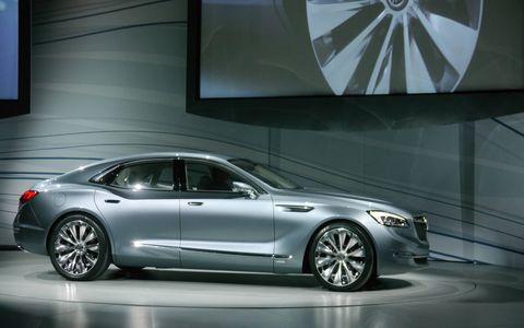 Buick Avenir is a flagship concept.