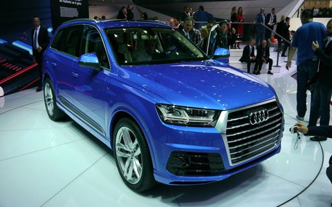 The Audi Q7 debuted at the Detroit auto show