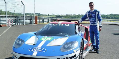 Scott Pruett has been testing the Ford GT ahead of Ford's return to Le Mans scheduled for 2016.