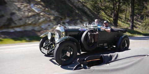 Don Shires and Craig Ekberg went halfsies on a 1928 4 1/2-liter Bentley...