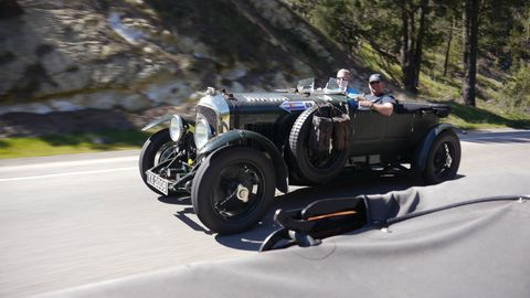 Don Shires and Craig Ekberg went halfsies on a 1928 4 1/2-liter Bentley...