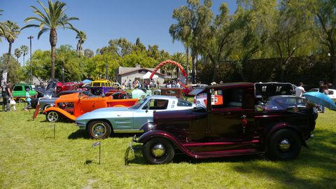 The Benedict Castle Concours offers something for everyone.