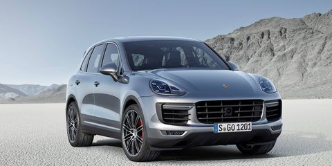 The Cayenne Turbo adds 20 hp and 37 lb-ft of torque over the outgoing model.