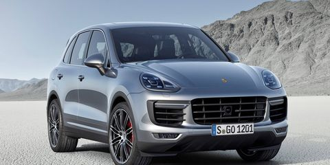 Porsche Reveals Facelifted Cayenne Suv