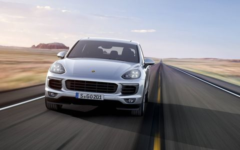 Porsche is introducing a new-to-the-range gas-electric S E-Hybrid model.