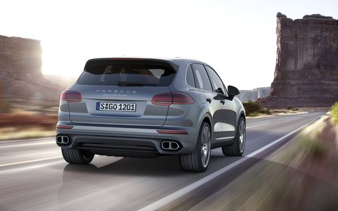 Porsche's reworked Cayenne is set to make its public debut at the Paris motor show later this year.