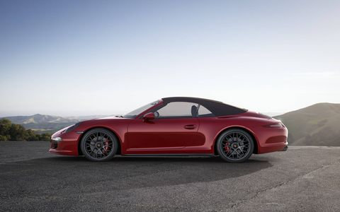 The GTS models are available as coupe and cabriolet versions, with rear-wheel drive or all-wheel drive.
