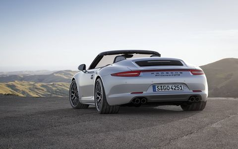 These new models bridge the gap between the 911 Carrera S and race track tested 911 GT3.