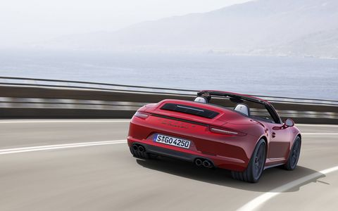Several technical features heighten dynamic performance and driving pleasure, including the 430 horsepower engine from the Carrera S Powerkit which incorporates the Sport Chrono package and Sport Exhaust.