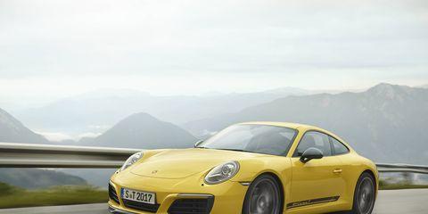 2018 Porsche Carrera T in Action