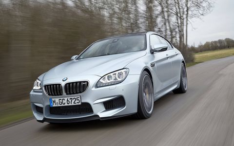The M6 Gran Coupe is rather attractive -- like a highly stylized M5 sedan. On account that it is.
