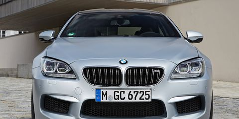 The 2014 BMW M6 Gran Coupe is fast -- there's no denying that -- but it's not the smoothest German performance sedan we've driven lately.