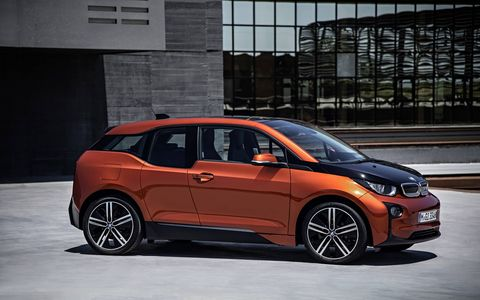 The 2014 BMW i3 comes in at a base price of $46,150 with our tester reaching $52,550 with just a few additional options.