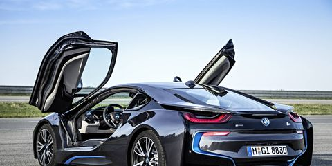 The BMW i8 hybrid makes a strong statement -- and elicits strong, if mixed, responses from our editors.