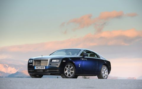 Our 2014 Rolls-Royce Wraith tester brought along a laundry list of options.