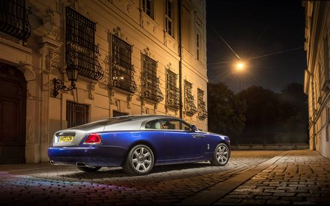 The 2014 Rolls-Royce Wraith is very well put together and comfortable.