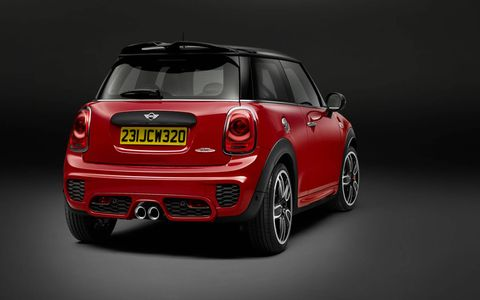 The 2015 Mini John Cooper Works Hardtop will debut in Detroit.
