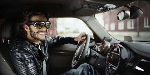Eyewear, Motor vehicle, Vision care, Automotive design, Steering part, Automotive mirror, Vehicle, Steering wheel, Shoe, Car,