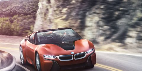 The BMW i Vision Future Interaction concept was shown at the 2016 CES.