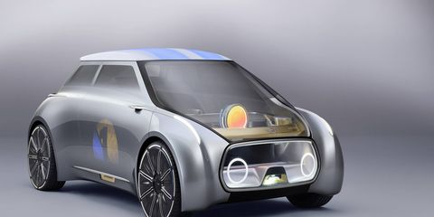 The Mini Vision Next 100 concept imagines how cars will be used in the not-so-distant future.