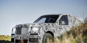 The Rolls-Royce Cullinan is expected to shed its camo at some point in 2017.