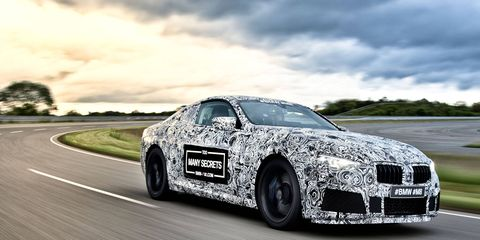 A performance variant of the still-unreleased 8-Series coupe is already in the works.