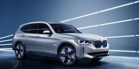 BMW is planning to release at least a dozen electric vehicles by the middle of the next decade.
