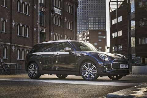 The 2020 Mini Clubman sticks with the current model spread, offering front- or all-wheel drive with a turbocharged, 1.5-liter three-cylinder in the Clubman (134 peak horsepower, 162 lb-ft of torque), a 2.0-liter four in the Clubman S (189 hp, 207 lb-ft) and a hot-rodded four in the Clubman John Cooper Works (228 hp, 258 lb-ft).