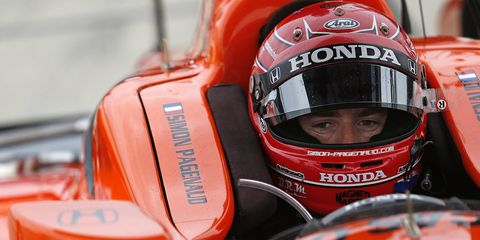 Simon Pagenaud is the driver to beat in qualifying on Saturday in Toronto.
