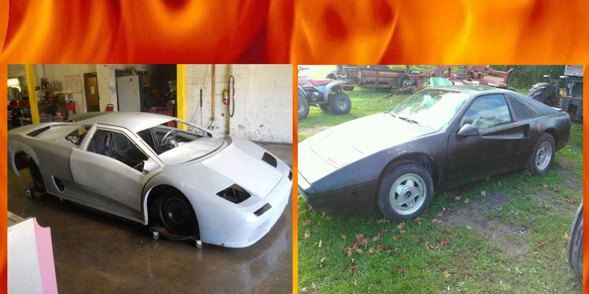 Project Car Hell Fiero Based Exotic Edition Fierrari Or Fieroborghini