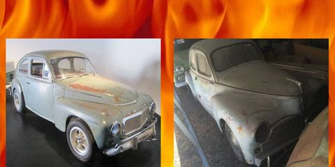55-year-old Volvo with 272 hp B6294T engine or 61-year-old Peugeot with 158 hp N9TE engine? Choose your hell!