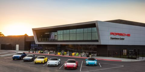The first Porsche Experience Center is in Atlanta, home of the company's North American headquarters.