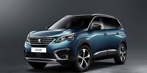 The seven-seat Peugeot 5008 premiered at the Paris motor show.
