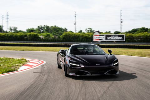 The 2018 McLaren 720S delivers 710 hp from a 4.0-liter twin-turbo V8.